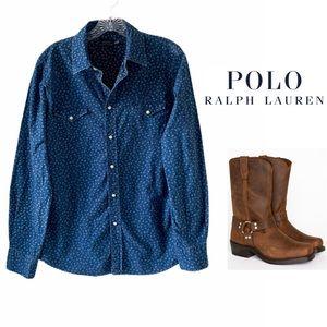 Polo Ralph Lauren Western Shirt SZ L